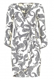 Hale Bob |  Dress with paisley print Waves | white  | Picture 1