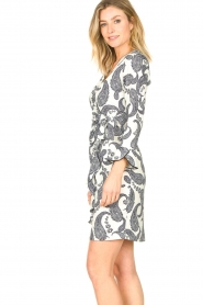 Hale Bob |  Dress with paisley print Waves | white  | Picture 6