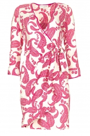 Hale Bob |  Dress with paisley print Waves | pink  | Picture 1