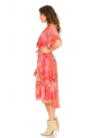 Hale Bob |  Midi dress with print Chelsea | pink  | Picture 4