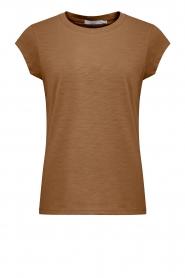 CC Heart    T-shirt Classic   camel    Picture 1