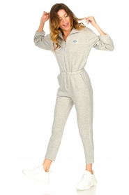 American Vintage |  Cotton jogging jumpsuit Oming | grey  | Picture 4