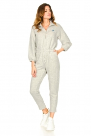 American Vintage |  Cotton jogging jumpsuit Oming | grey  | Picture 2