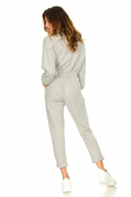 American Vintage |  Cotton jogging jumpsuit Oming | grey  | Picture 6