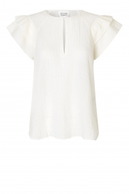 Second Female |  Top with open detail Mallorca | white  | Picture 1