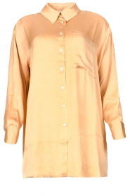 American Vintage |  Oversized blouse acetate Widland | nude  | Picture 1