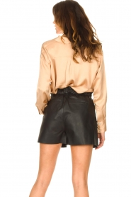 American Vintage |  Oversized blouse acetate Widland | nude  | Picture 6