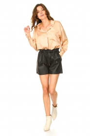 American Vintage |  Oversized blouse acetate Widland | nude  | Picture 3