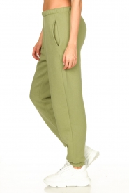 American Vintage |  Sweatpants with drawstring Ikatown | green  | Picture 6