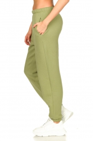American Vintage |  Sweatpants with drawstring Ikatown | green  | Picture 5