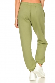American Vintage |  Sweatpants with drawstring Ikatown | green  | Picture 7