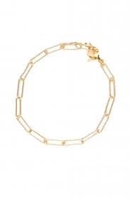 Prayer Accessories |  Link chain bracelet Kiki | gold  | Picture 1