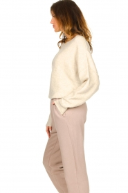American Vintage |  Sweater with dropped sleeves Damsville | natural  | Picture 5
