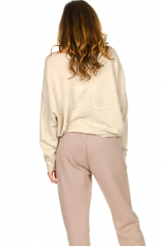 American Vintage |  Sweater with dropped sleeves Damsville | natural  | Picture 6
