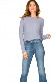 American Vintage |  Soft sweater Damsville | blue  | Picture 5