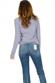 American Vintage |  Soft sweater Damsville | blue  | Picture 7