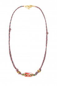 Prayer Accessories | Prayer box necklace | red  | Picture 1