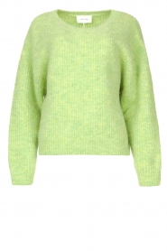 American Vintage |  Sweater with dropped sleeve East | green