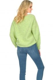 American Vintage :  Sweater with dropped sleeve East | green - img6