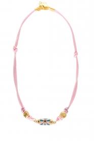 Prayer Accessories | Prayer box necklace | light pink   | Picture 1