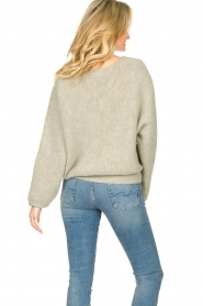 American Vintage |  Sweater with dropped sleeve East | grey  | Picture 6