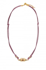 Prayer Accessories | Prayer box necklace | lilac  | Picture 1