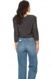 American Vintage |  Knitted sweater Zabidoo | dark grey  | Picture 6