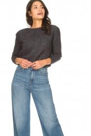 American Vintage |  Knitted sweater Zabidoo | dark grey  | Picture 3