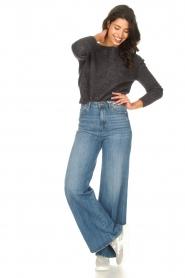 American Vintage |  Knitted sweater Zabidoo | dark grey  | Picture 2