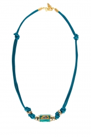 Prayer Accessories | Prayer box necklace | blue  | Picture 1