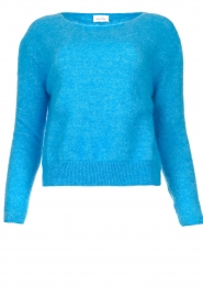 American Vintage |  Knitted sweater Zabidoo | blue  | Picture 1