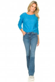 American Vintage |  Knitted sweater Zabidoo | blue  | Picture 3