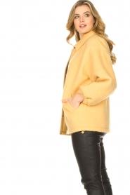 American Vintage |  Woolen jacket Zalirow | yellow  | Picture 5