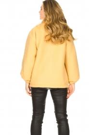 American Vintage |  Woolen jacket Zalirow | yellow  | Picture 6