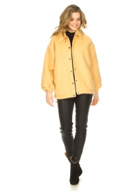 American Vintage |  Woolen jacket Zalirow | yellow  | Picture 3