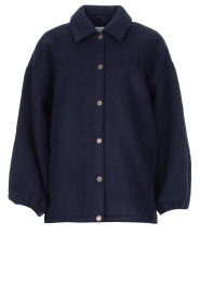 American Vintage |  Woolen jacket Zalirow | navy  | Picture 1