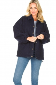 American Vintage |  Woolen jacket Zalirow | navy  | Picture 2