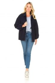 American Vintage |  Woolen jacket Zalirow | navy  | Picture 3