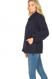American Vintage |  Woolen jacket Zalirow | navy  | Picture 5