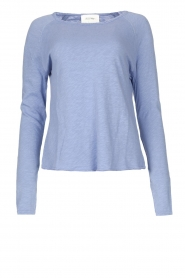 American Vintage |  Basic round neck T-shirt Sonoma | blue  | Picture 1