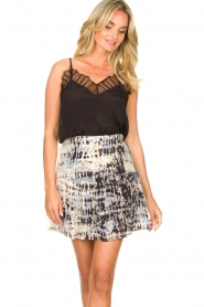 Second Female |  Lace top Nathali | black  | Picture 4