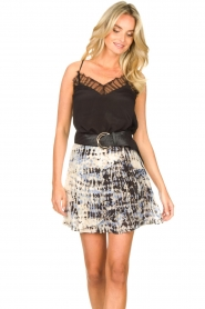 Second Female |  Lace top Nathali | black  | Picture 2