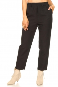 Second Female |  Tapered pants Nukani | black  | Picture 4