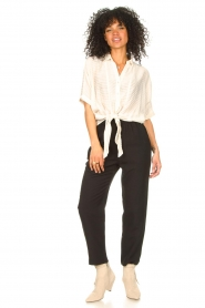 Second Female |  Tapered pants Nukani | black  | Picture 2