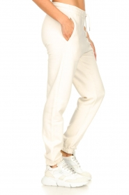 Second Female |  Basic sweatpants Miami | white  | Picture 6