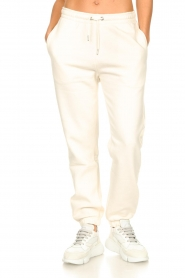 Second Female |  Basic sweatpants Miami | white  | Picture 4