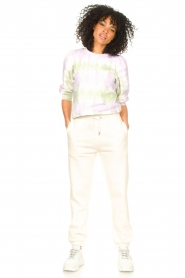 Second Female |  Basic sweatpants Miami | white  | Picture 2