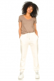 Second Female |  Basic sweatpants Miami | white  | Picture 3