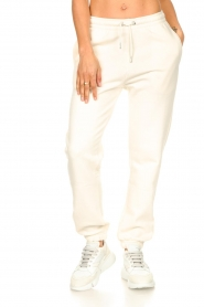 Second Female |  Basic sweatpants Miami | white  | Picture 5