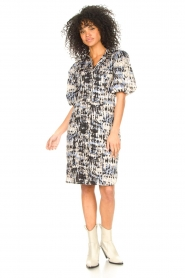 Second Female |  Cotton tie dye dress Santo | multi  | Picture 3